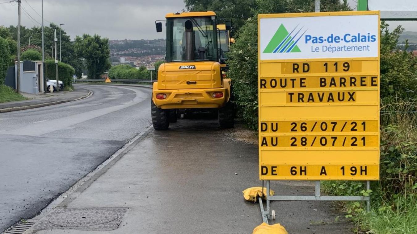 Outreau: le boulevard du 8 mai fermé ces lundi, mardi et mercredi pour cause de travaux
