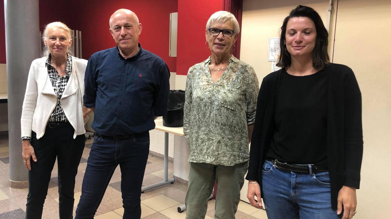Sylvie Jourdin et Marie-Christine Rouffiange étaient présentes au collège depuis son ouverture en 1988.