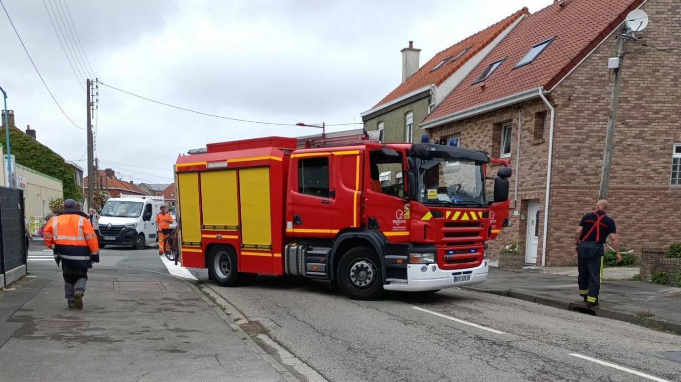Les pompiers sont intervenus rue Nationale en début d'après-midi pour une fuite de gaz.
