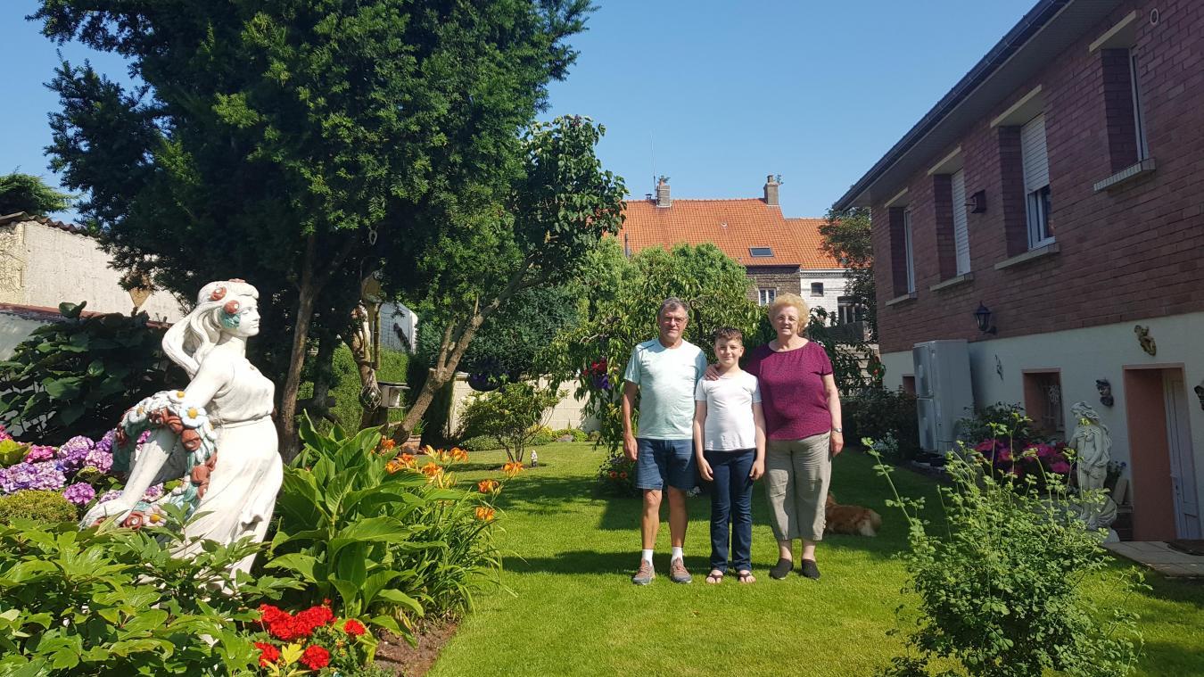 Jardins extraordinaires : la famille Lefebvre, à Calais, mise sur le bien-être