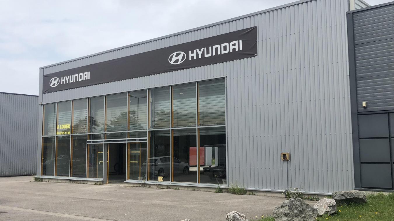 La future concession Hyundai ouvrira en septembre zone Curie.