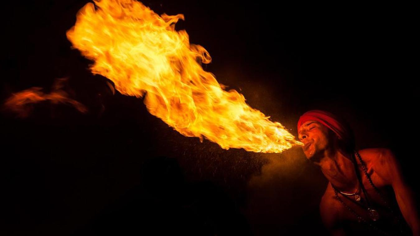 Un spectacle de feu était annoncé. Photo Pixabay