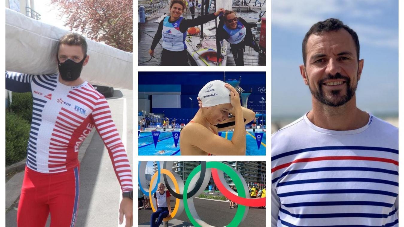 Une bonne dizaine d'athlètes du Pas-de-Calais et des Flandres participent aux JO de Tokyo