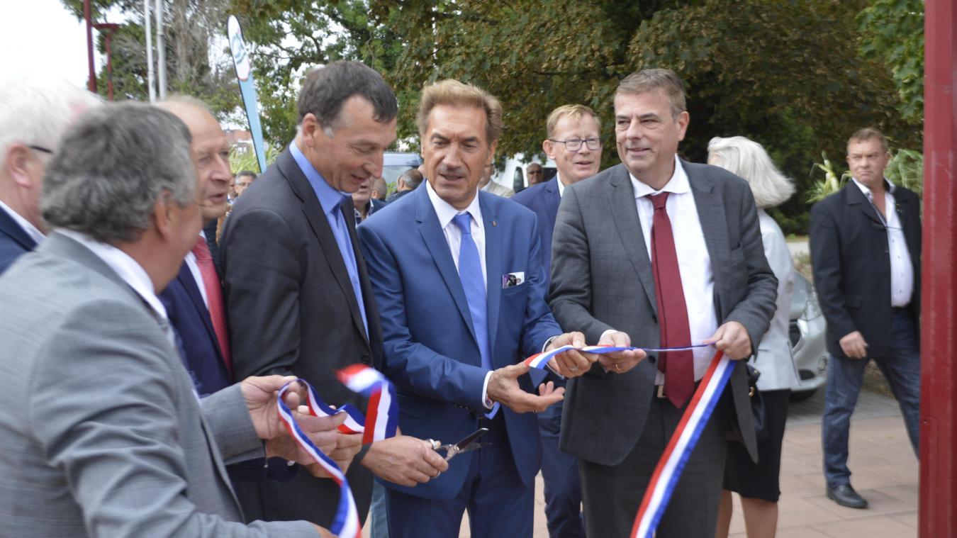 En 2019, la Foire d'Hazebrouck avait été inaugurée en présence de Christian Durlin, le président de la Chambre d'agriculture.