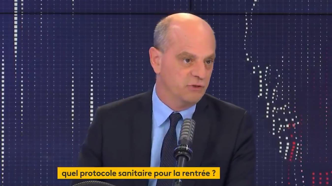 Jean-Michel Blanquer a fait le point sur le protocole sanitaire de la rentrée à venir.
