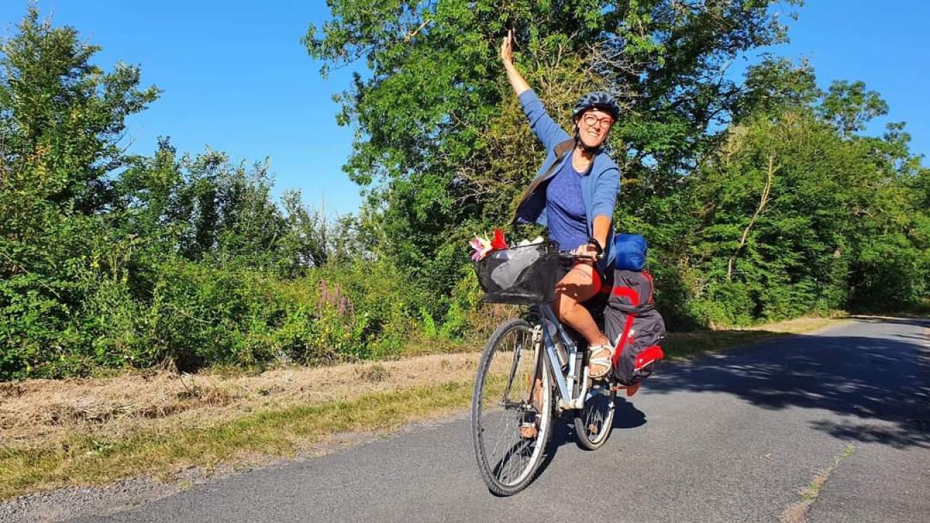 Katia Pierre va parcourir 2000km à vélo. Point de départ: Dunkerque, le 1eraoût.