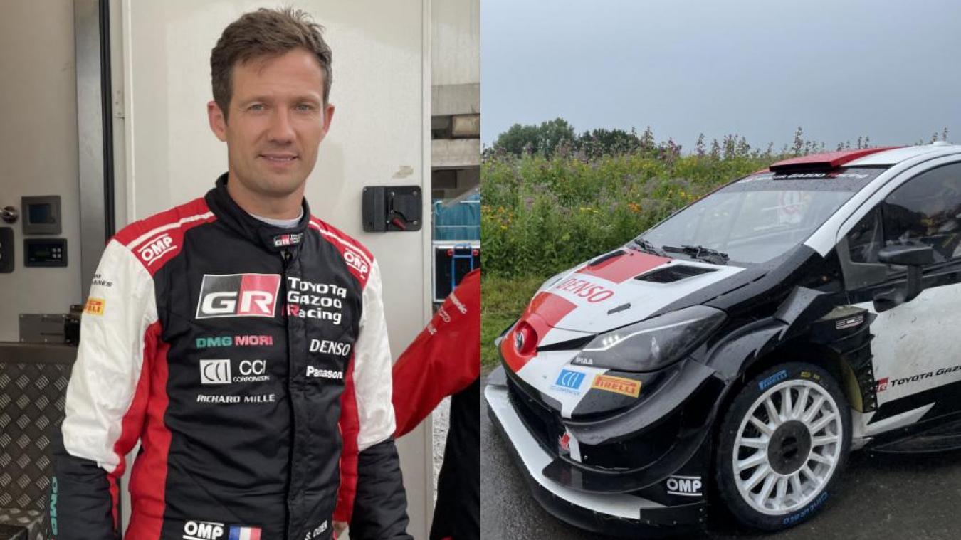 Le pilote de rallye français, Sébastien Ogier, a fait des routes d'Hondschoote son terrain de jeu le mardi 27 juillet.