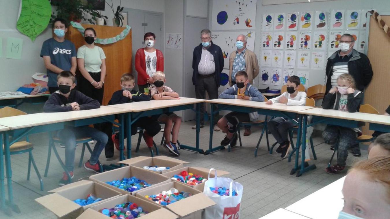 En plus de s'amuser, les enfants du centre de loisirs se sont lancés dans des actions utiles et solidaires.