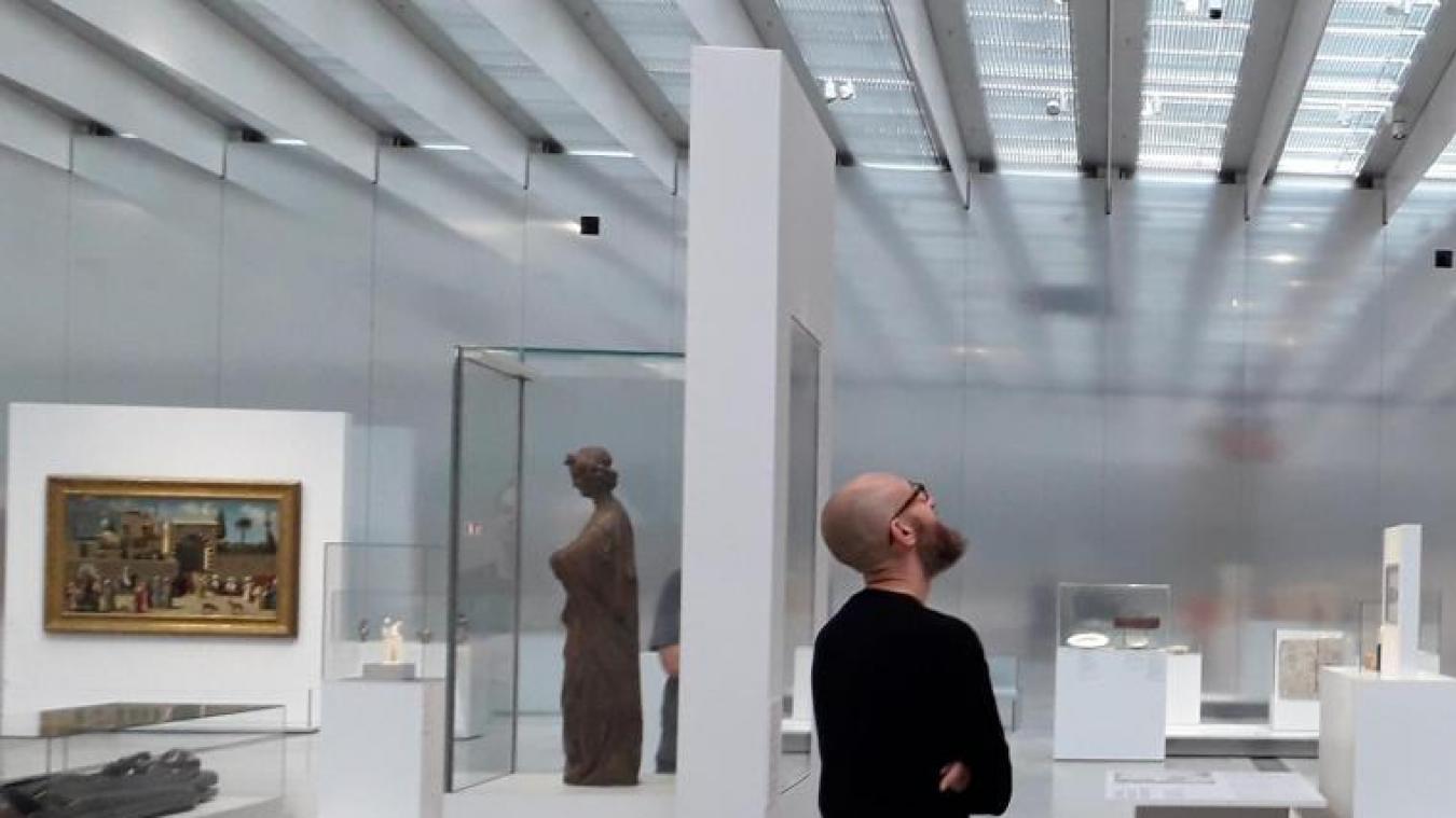 Il faut désormais bénéficier d'un pass sanitaire pour accéder au Louvre-Lens.