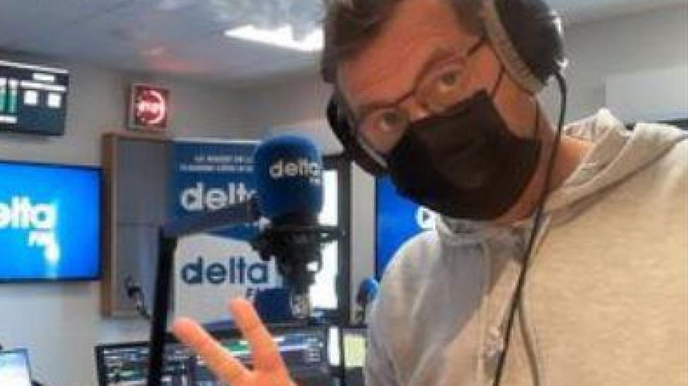 Delta FM, représentée ici par l'un de ses animateurs, Arnaud Leducq, reste en tête des radios sur le littoral de la Côte d'Opale.