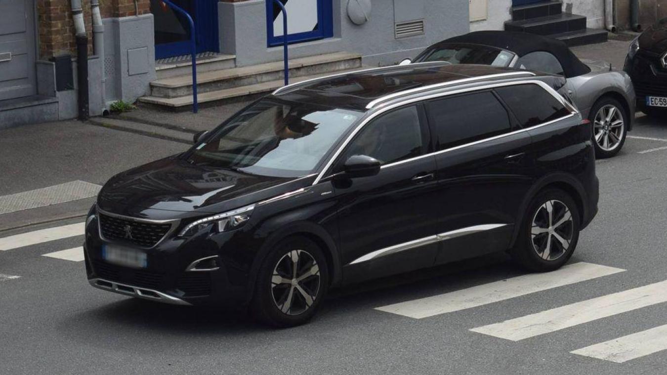 La Peugeot 5008 est un des modèles les plus volés en ce moment.