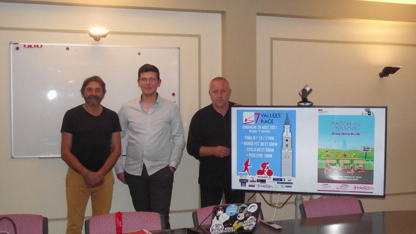 Nicolas Depres est dans les starting-blocks pour cet événement unique dans la région, organisé avec le soutien de Marco Puaux et Dominique Poiteaux.