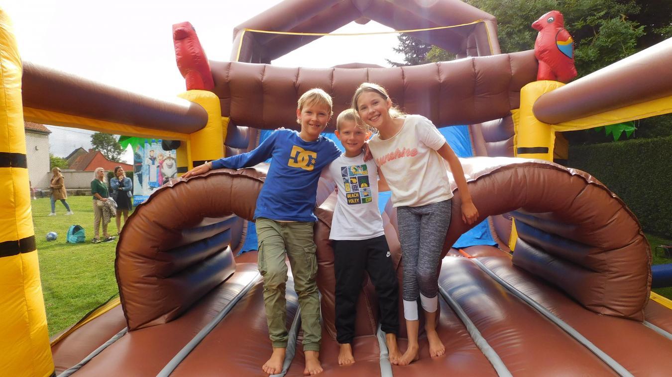 Des jeux gonflables ont été commandés pour les enfants de Looberghe. (photo d'illustration)