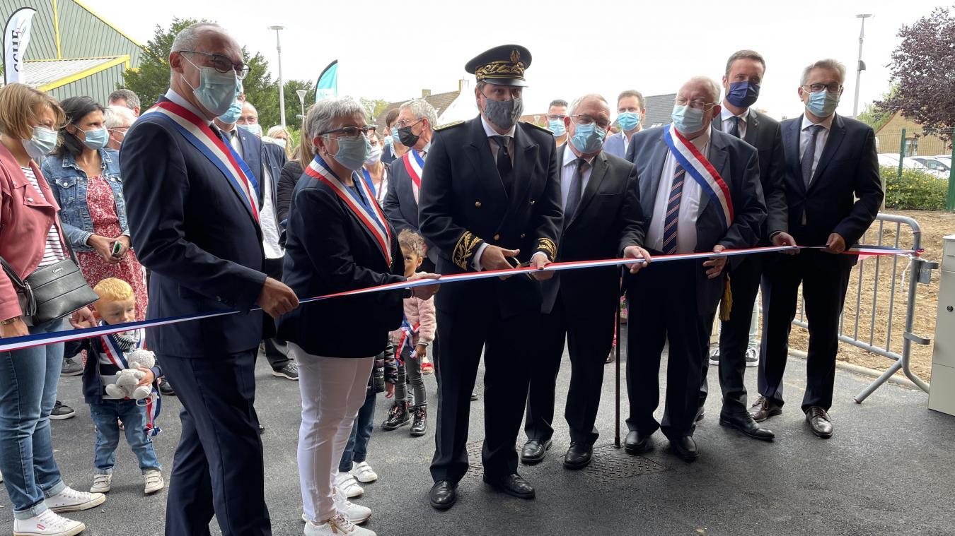 Samedi 28 août, le sous-préfet Hervé Tourmente et de nombreux élus du territoire ont inauguré l'école.