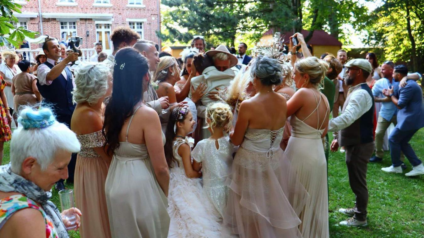 Lolita a organisé la demande en mariage de son frère, filmée par l'équipe du Manoir des Lys. (Image Manoir des Lys)