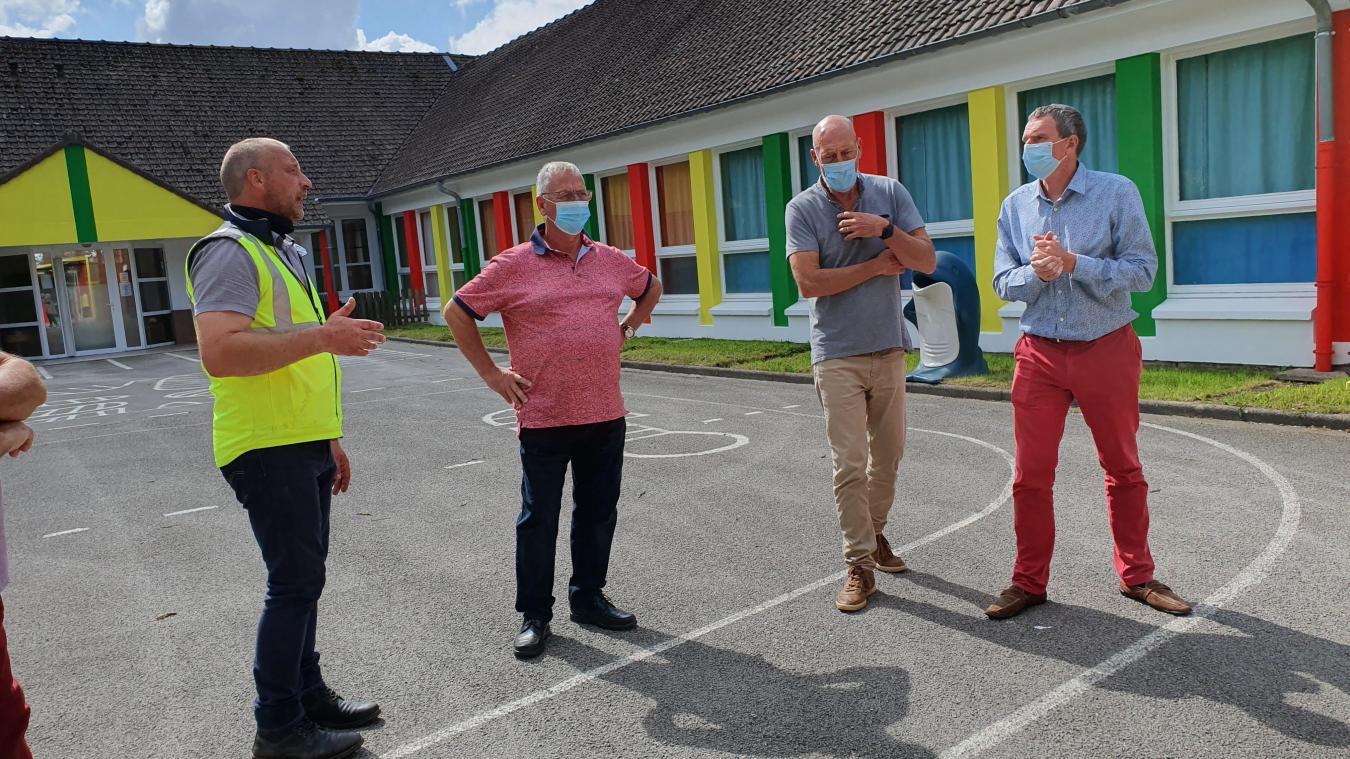 L'école maternelle André Pruvot arbore de belles couleurs.