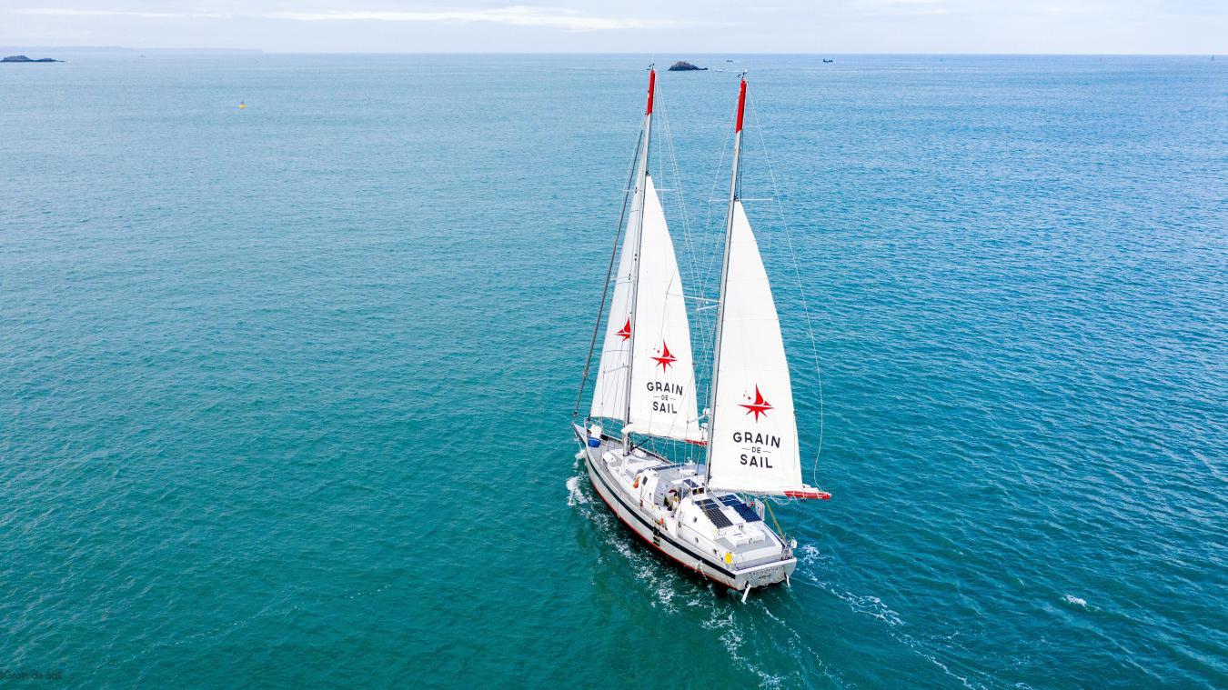 Le voilier cargo de Grain de Sail effectue des boucles entre la Bretagne, New York, les Antilles et l'Amérique latine. Et ce, jamais à vide.