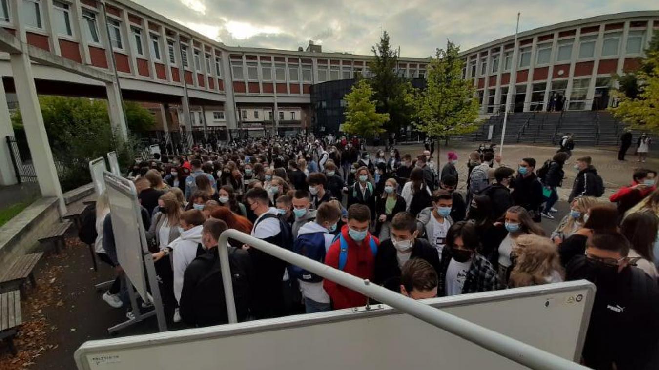 357 élèves de secondes ont fait leur rentrée ce mardi 2 septembre.