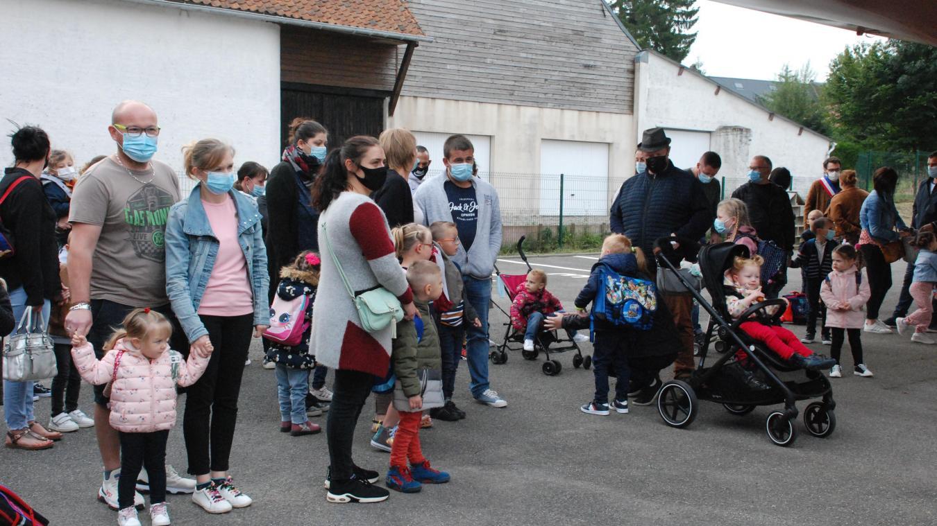 La maternelle frugeoise accueille 67 élèves dans 3 classes.