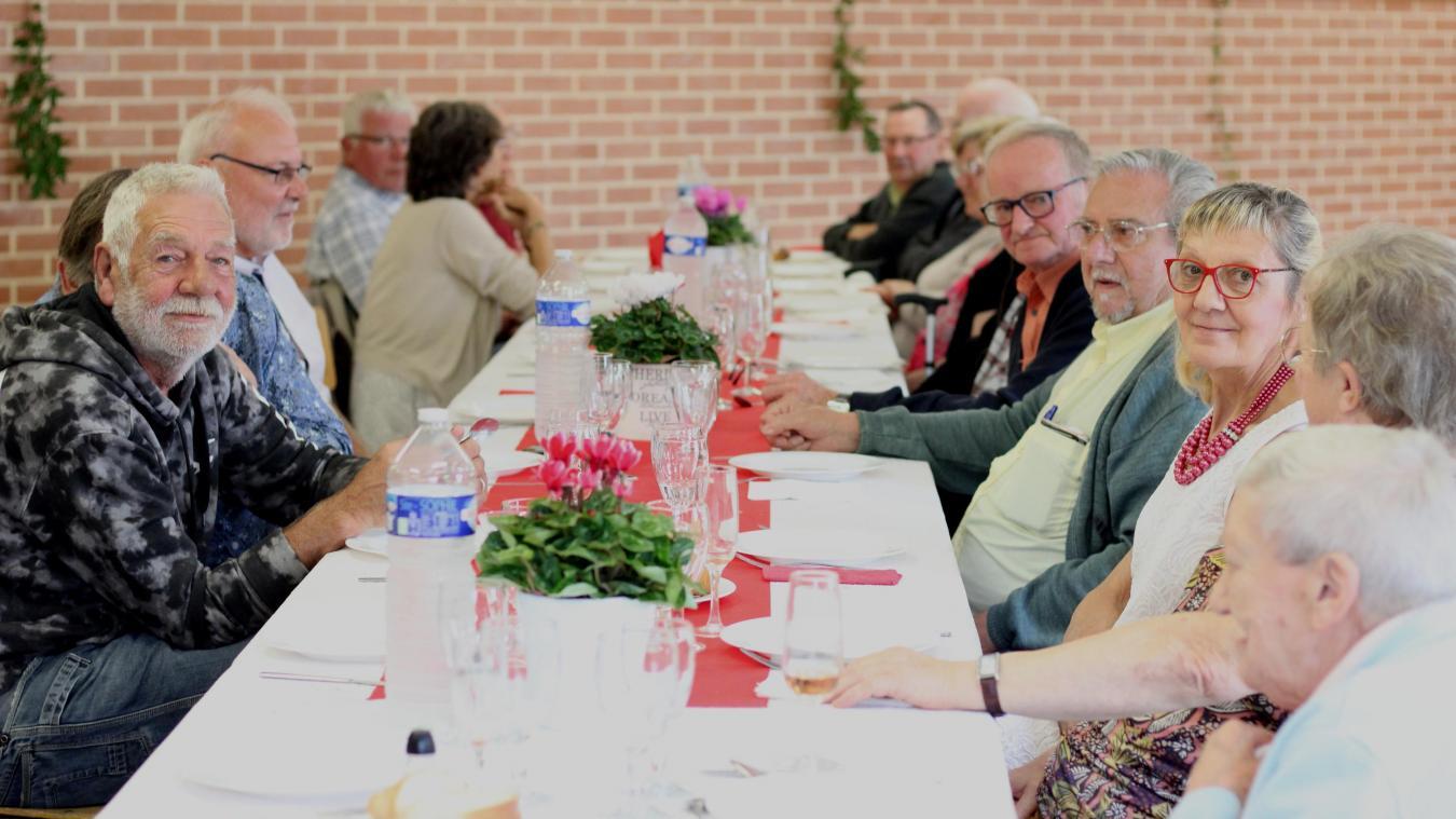 Les aînés de Pradelles se sont retrouvés dimanche 29 août.