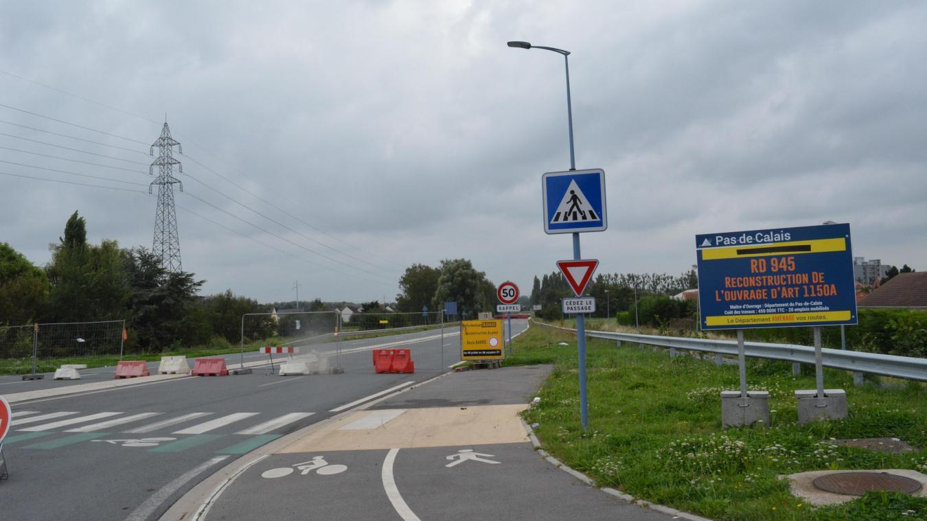 Le chantier devait prendre fin le 6 septembre.