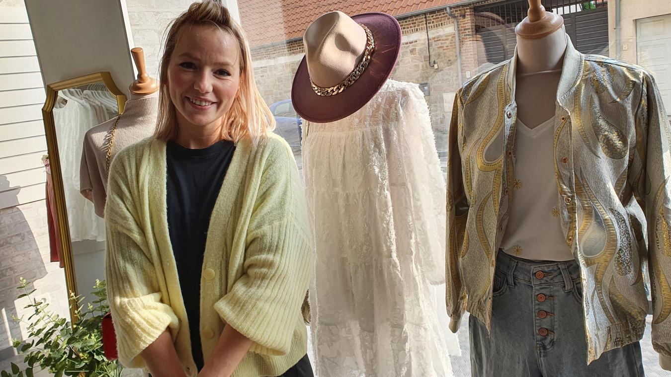 Après avoir créé son e-shop, Lilie ouvre sa boutique à Verquin, dont elle est originaire.