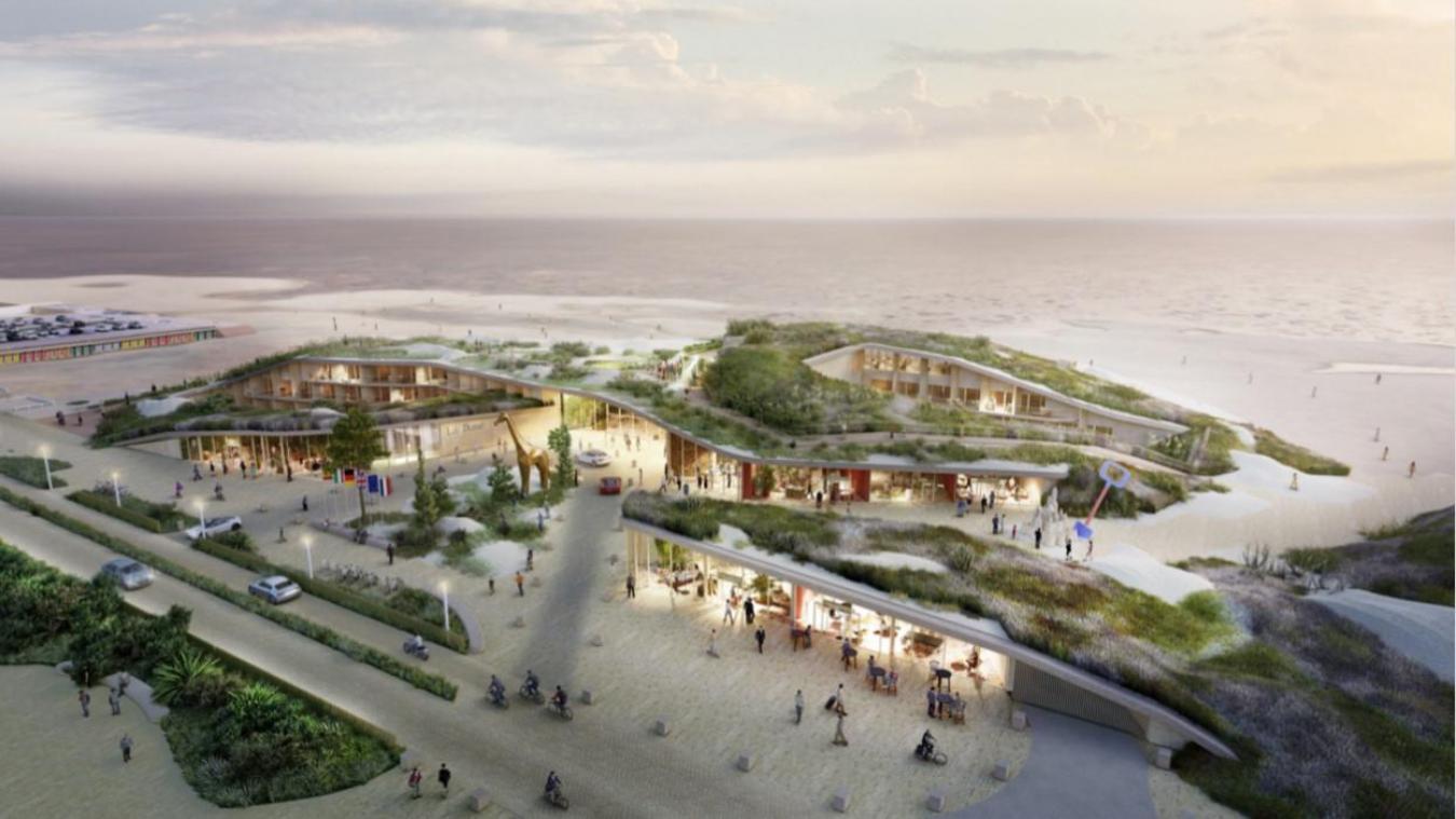 Le maire Daniel Fasquelle va lancer prochainement les assises du Front de mer ainsi que des ateliers où les Touquettois pourront s'exprimer sur ce projet The Dune, un hôtel qui prévoit de remplacer l'Aqualud.