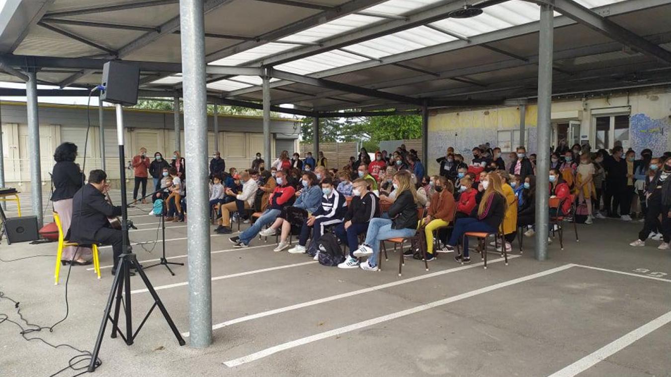 Calais : le collège Lucien Vadez a fait sa rentrée en musique