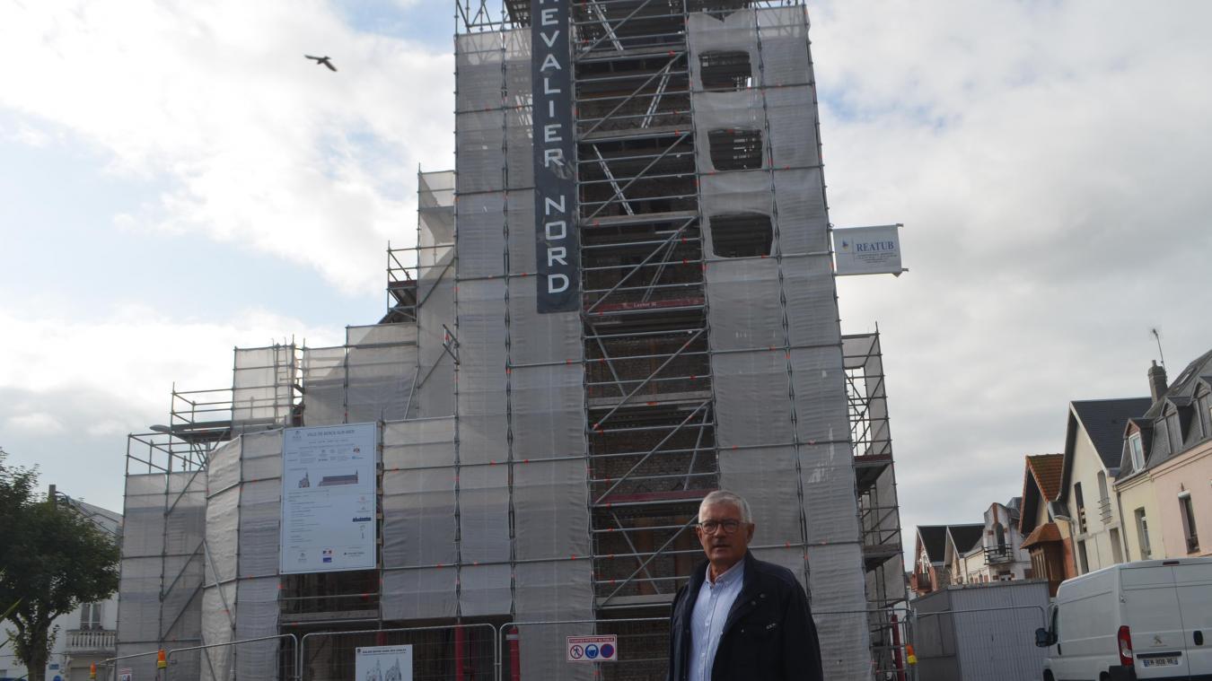 Le maire Bruno Cousein s'étonne lui-même du niveau d'investissement que va réaliser la ville de Berck avec des chantiers dans tous les sens et ce n'est pas fini...
