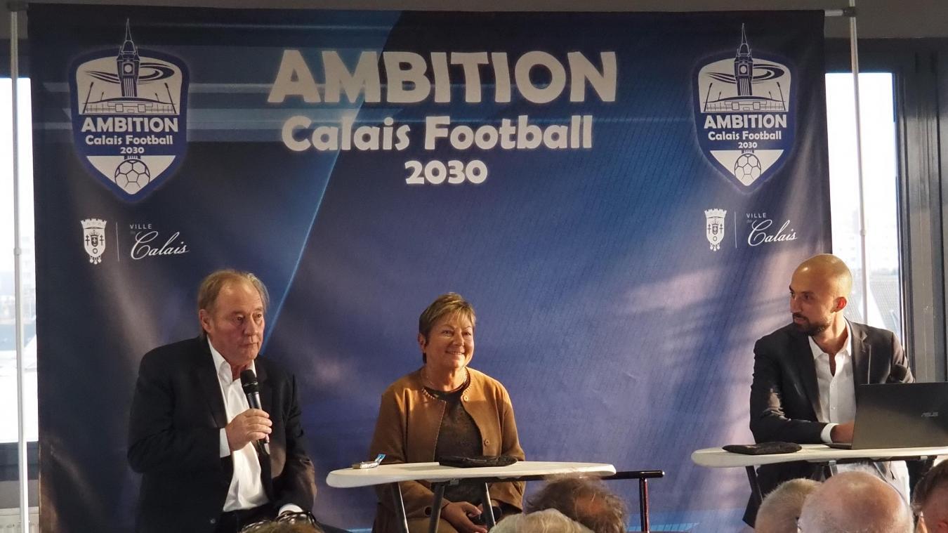 Ancien président du Racing Club de Lens, Gervais Martel était invité aux côtés de Natacha Bouchart et Baptiste Vendroux.
