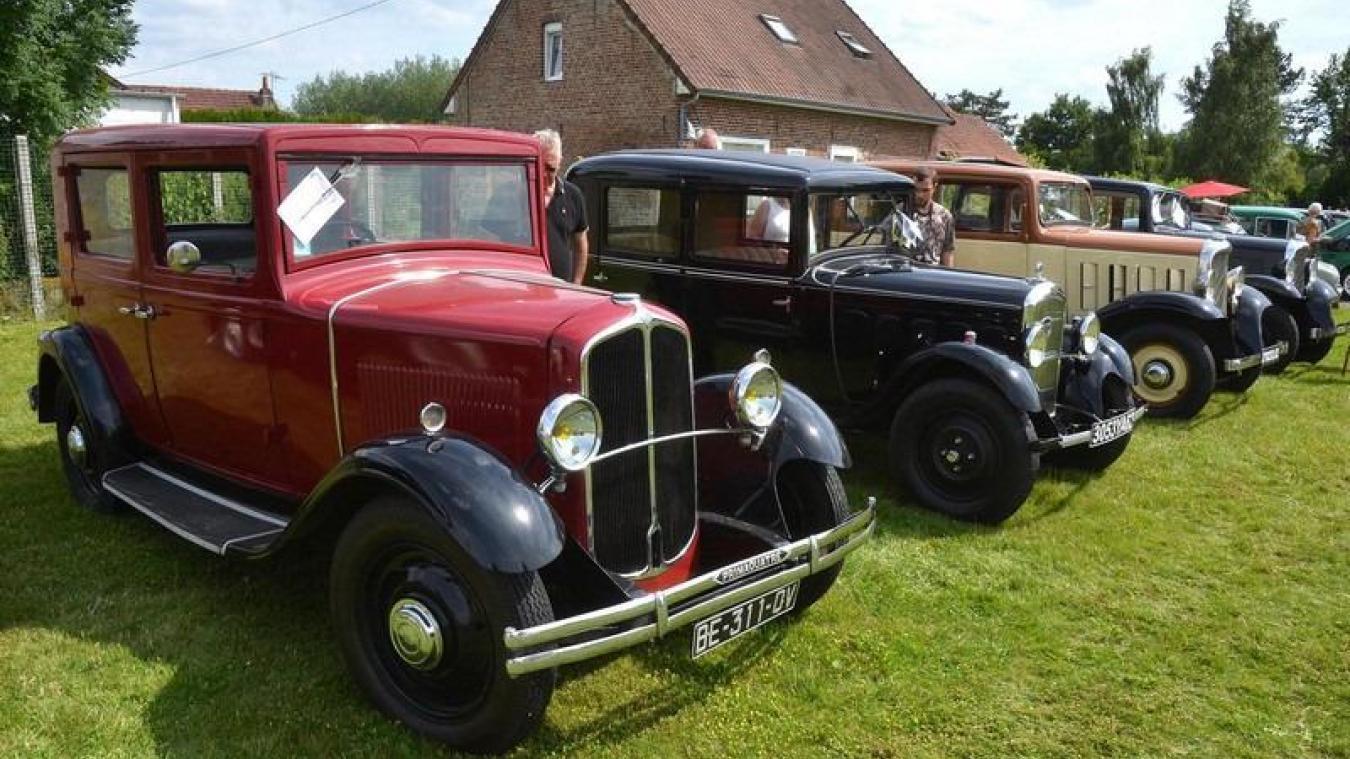 Le rassemblement de véhicules anciens aura lieu dimanche.
