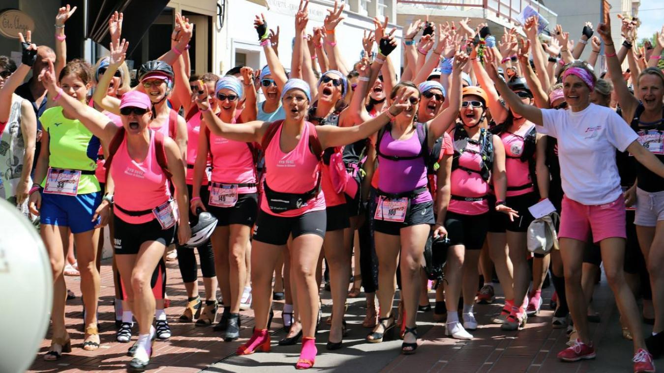Rendez-vous ce samedi 4 septembre rue Saint-Jean pour l'épreuve de la course en hauts talons.