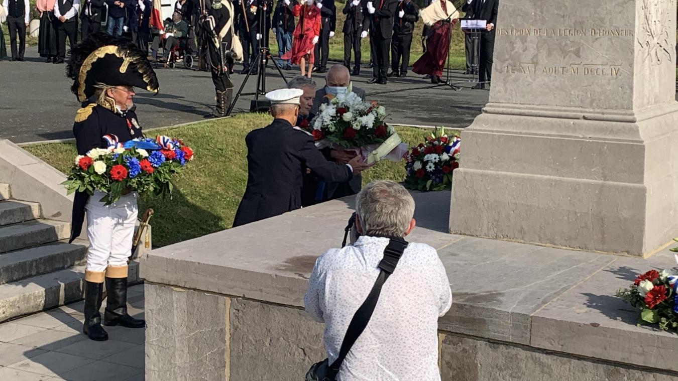 Boulogne: les festivités en l'honneur du bicentenaire de la mort de Napoléon Ier continuent ce dimanche