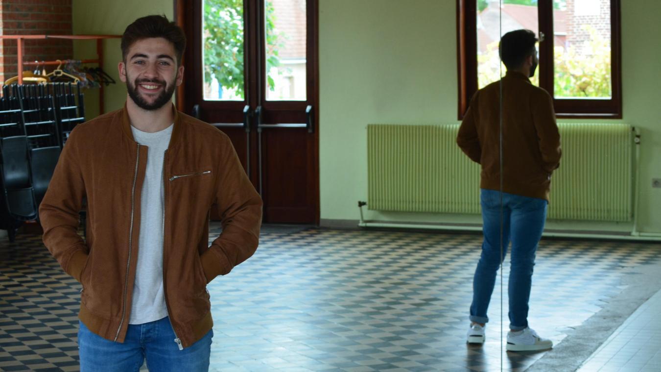 Thibault Caremelle animera les cours au Centre Socio-Culturel de Godewaersvelde.