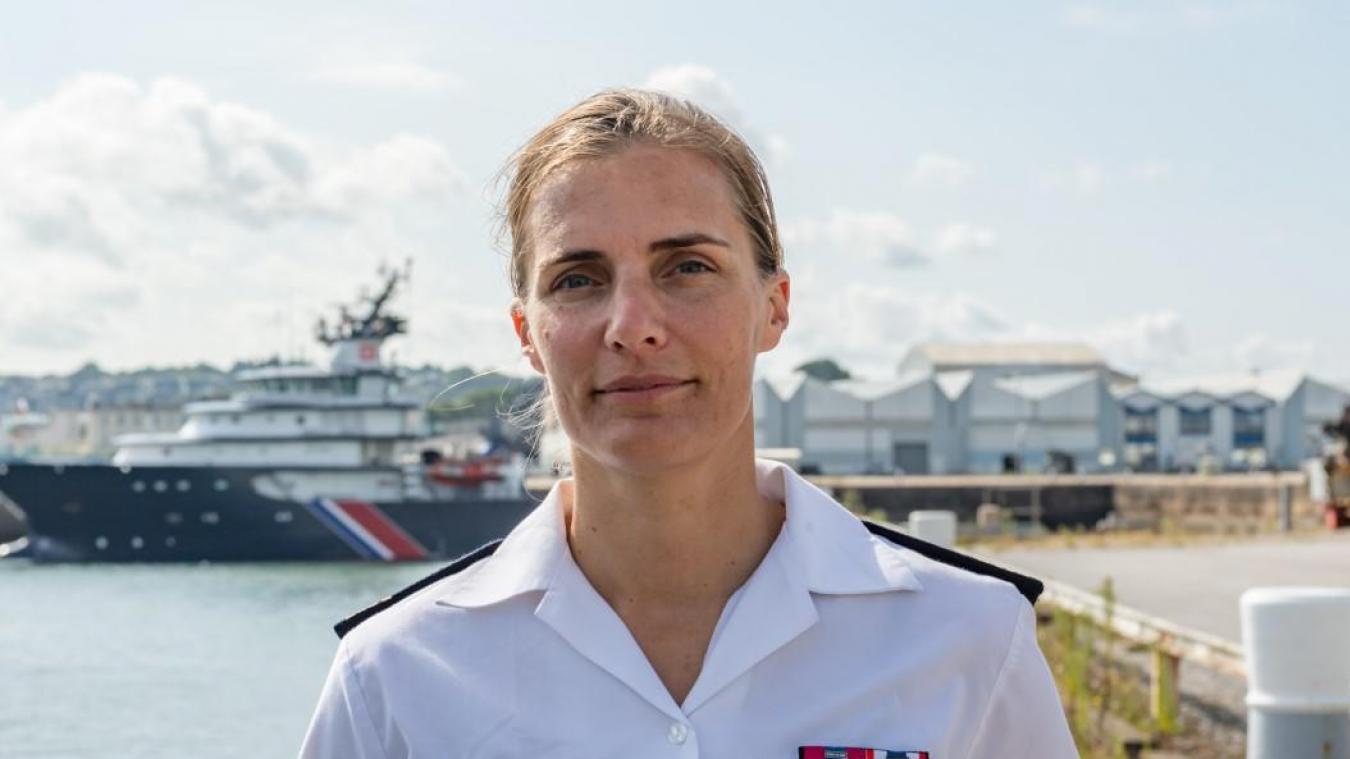 Véronique Magnin a pris ses fonctions de porte-parole du préfet maritime de la Manche-mer du Nord le 16 août.