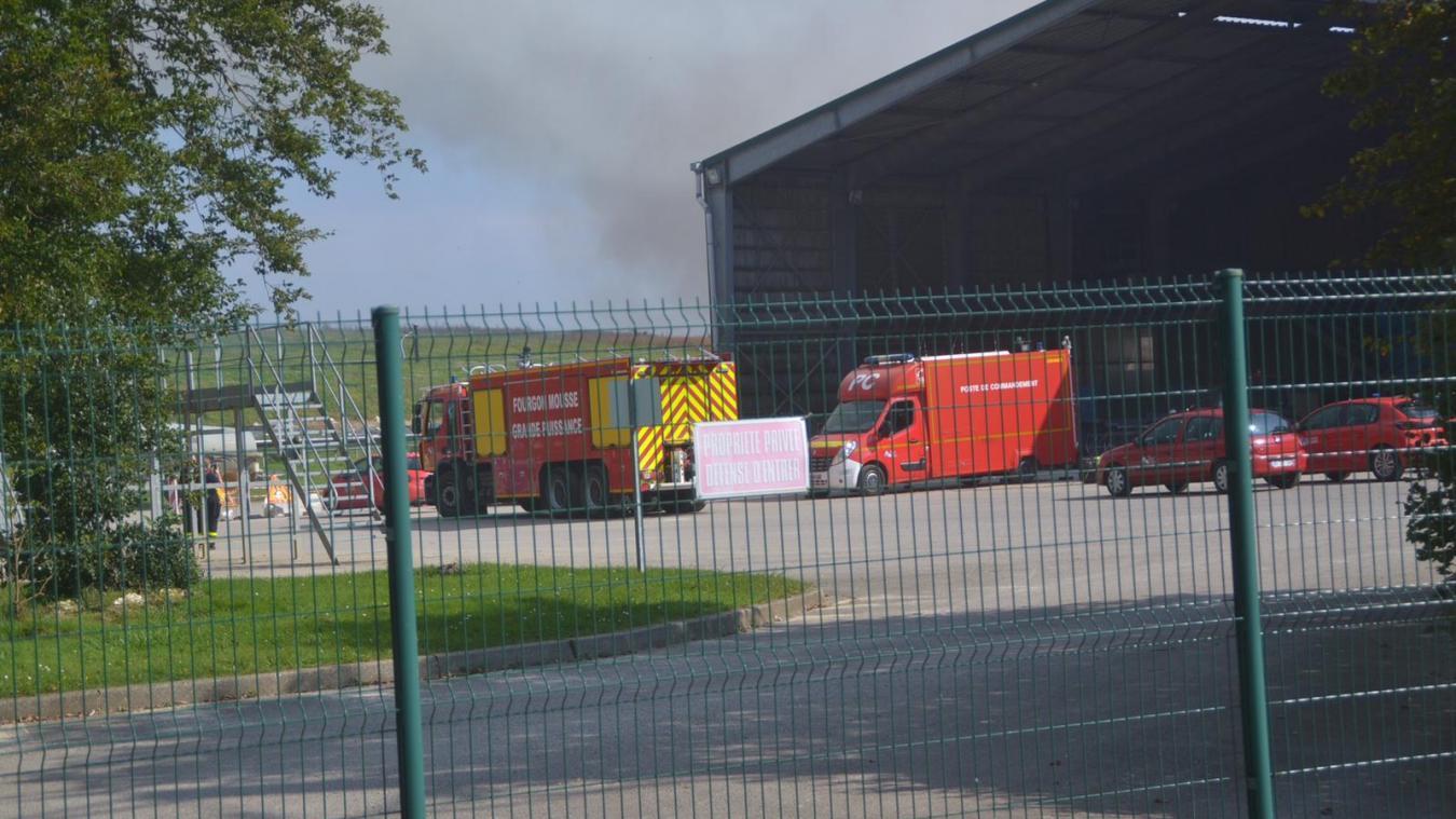 Bimont : début d'incendie à l'intérieur du centre de traitement