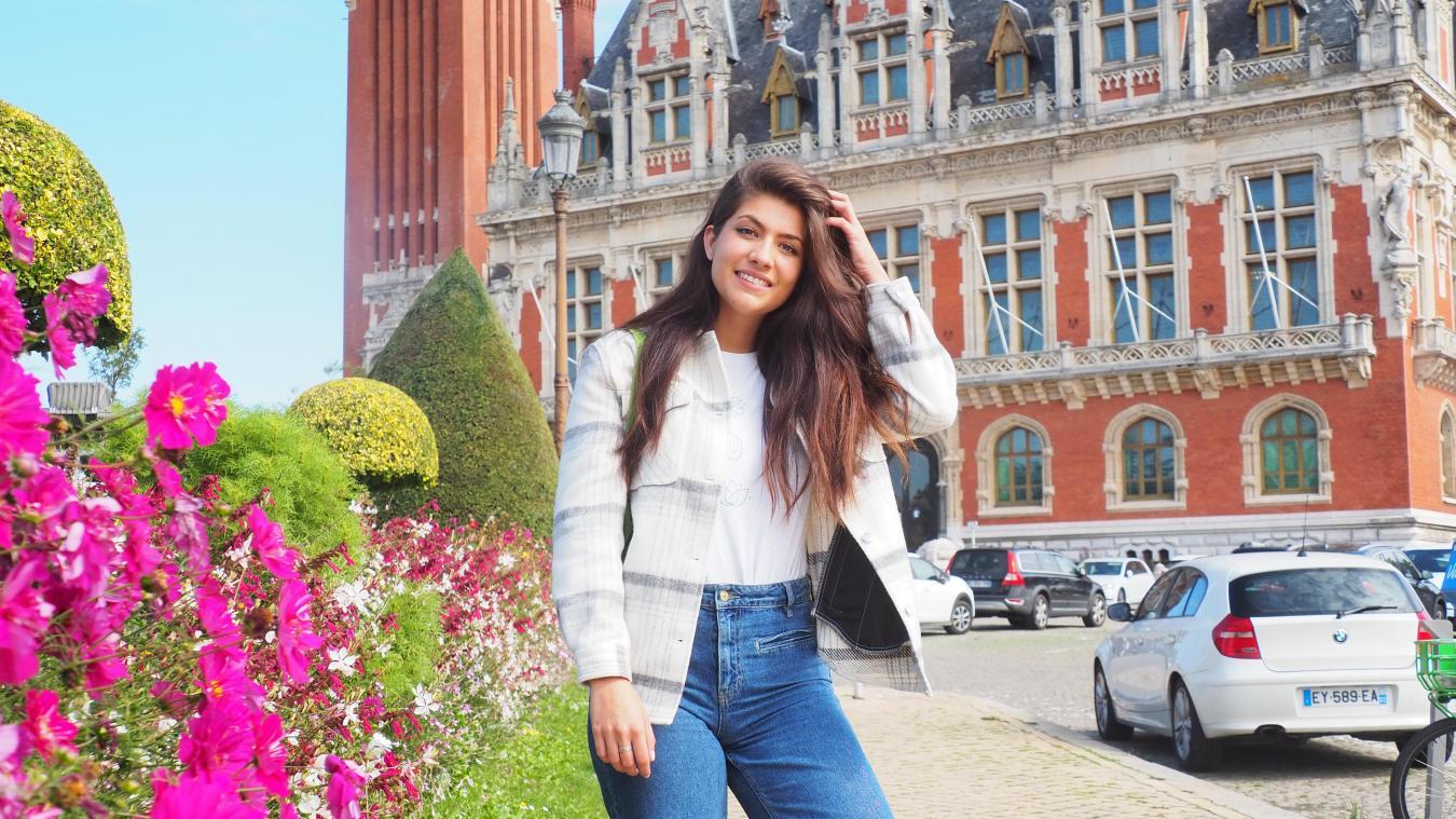 A 21 ans, Coline Gorée s'apprête à participer au concours de Miss Nord Pas-de-Calais à Liévin le 16 octobre prochain.