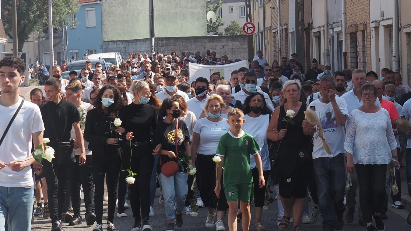 La marche blanche a rassemblé environ 260 personnes.