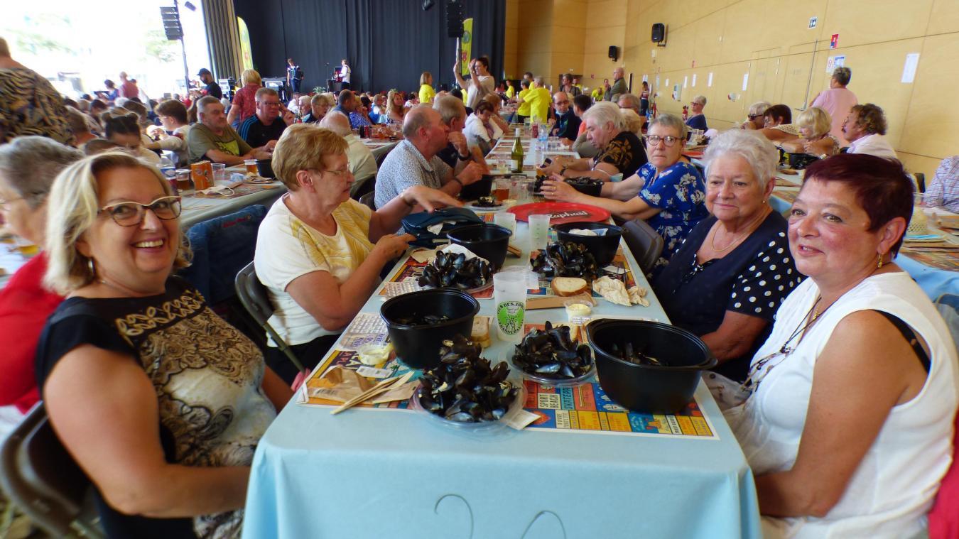 Les Calaisiens étaient au rendez-vous à la Kermesse de la moule.