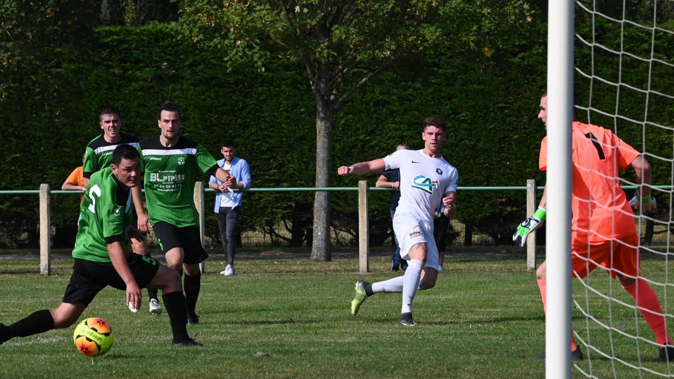Grand Calais Pascal s'est imposé (3-1) sur la pelouse du Fort-Vert.