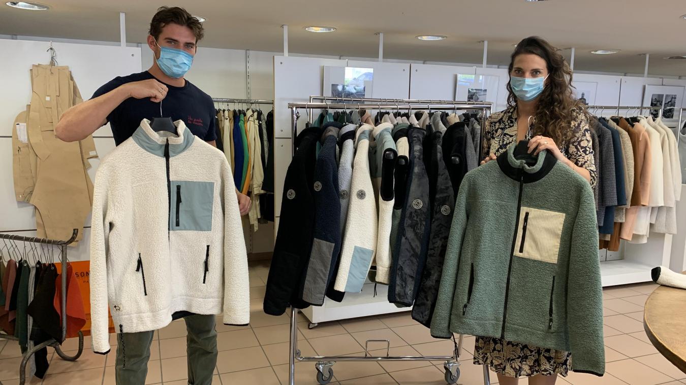 Luca et Marine Lener, les enfants de Frédéric Lener, sont pleinement impliqués dans le développement de la marque Mout-Mout.