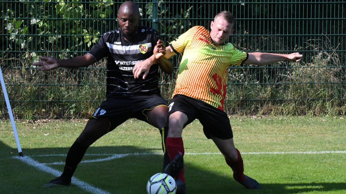 Malo (en rouge et jaune) a fait tomber les Cheminots d'Hazebrouck pour le second tour de la Coupe de France.