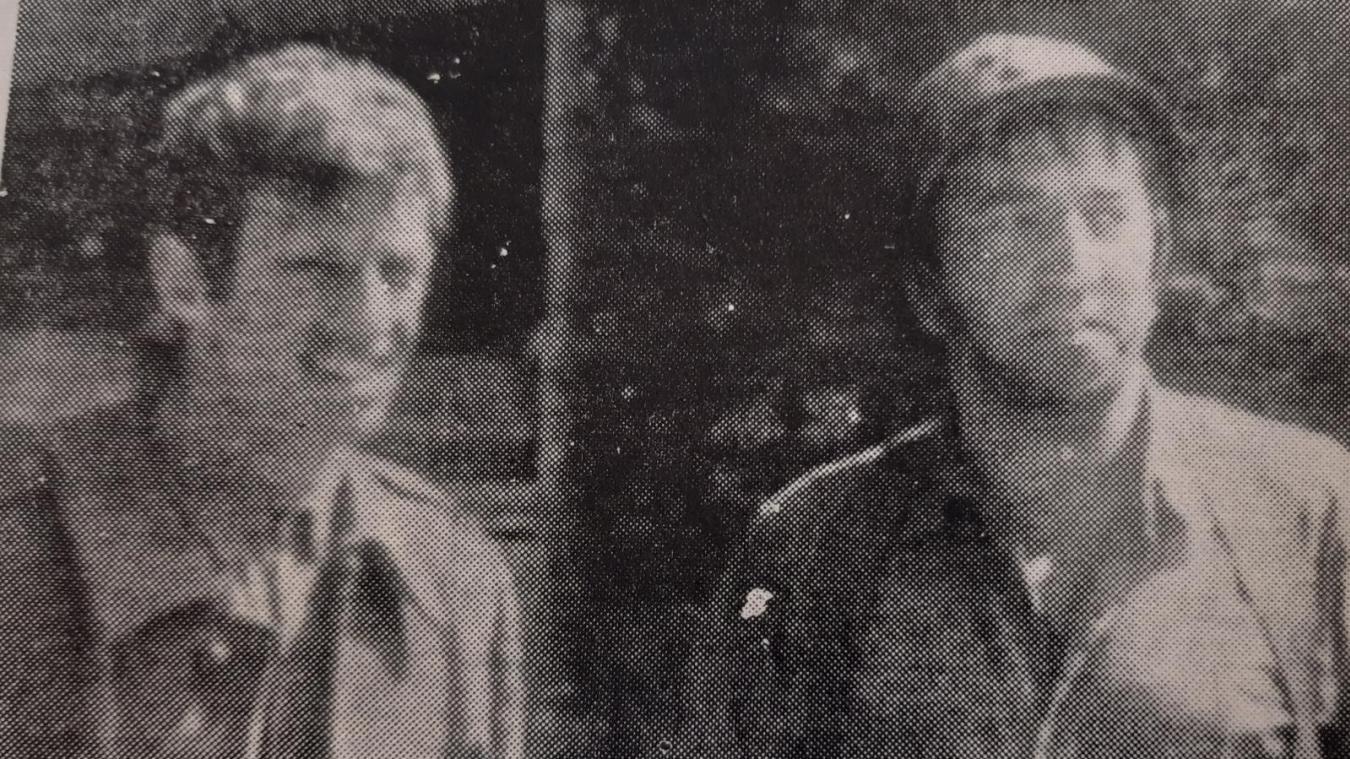 Jean-Paul Belmondo, ici avec Georges Géret.