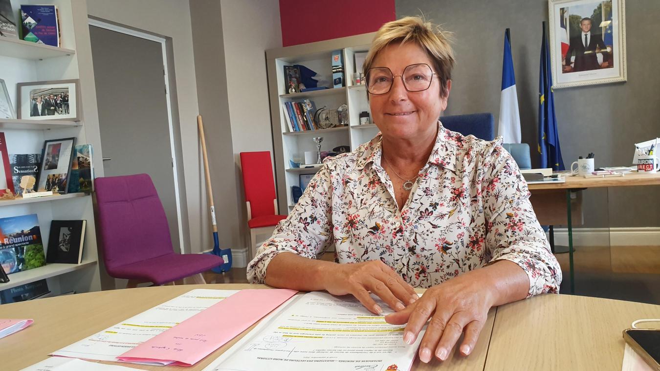 Natacha Bouchart, maire de Calais, a passé en revue plusieurs sujets hier lors d'un entretien de rentrée politique.