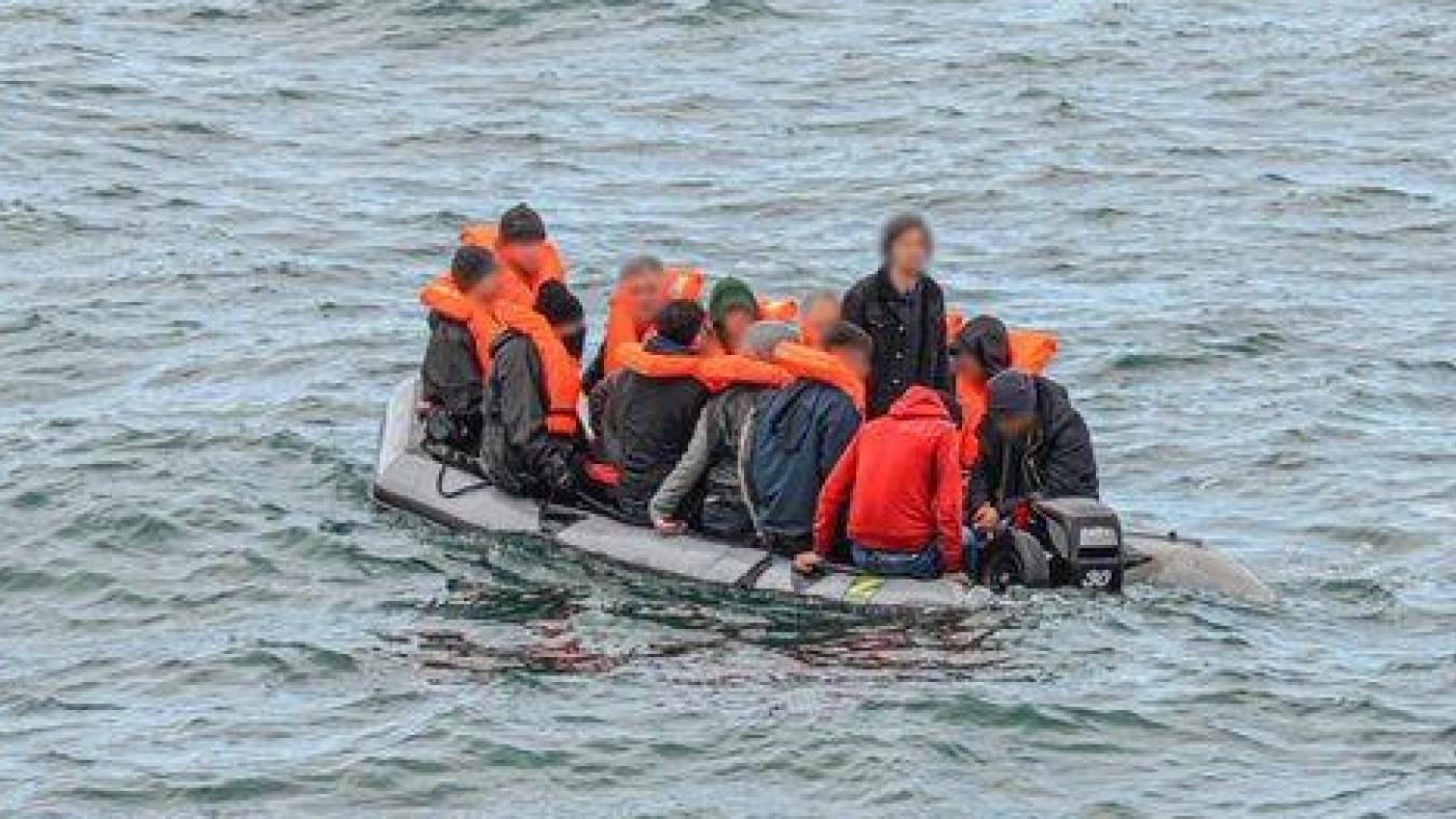 Cinquante-cinq migrants ont été secourus en mer ce lundi.