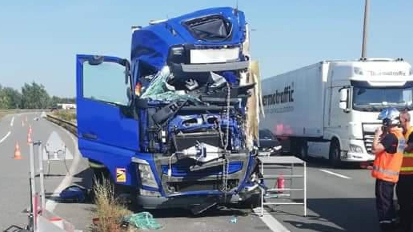 L'accident s'est produit au kilomètre 110, sur l'A16.