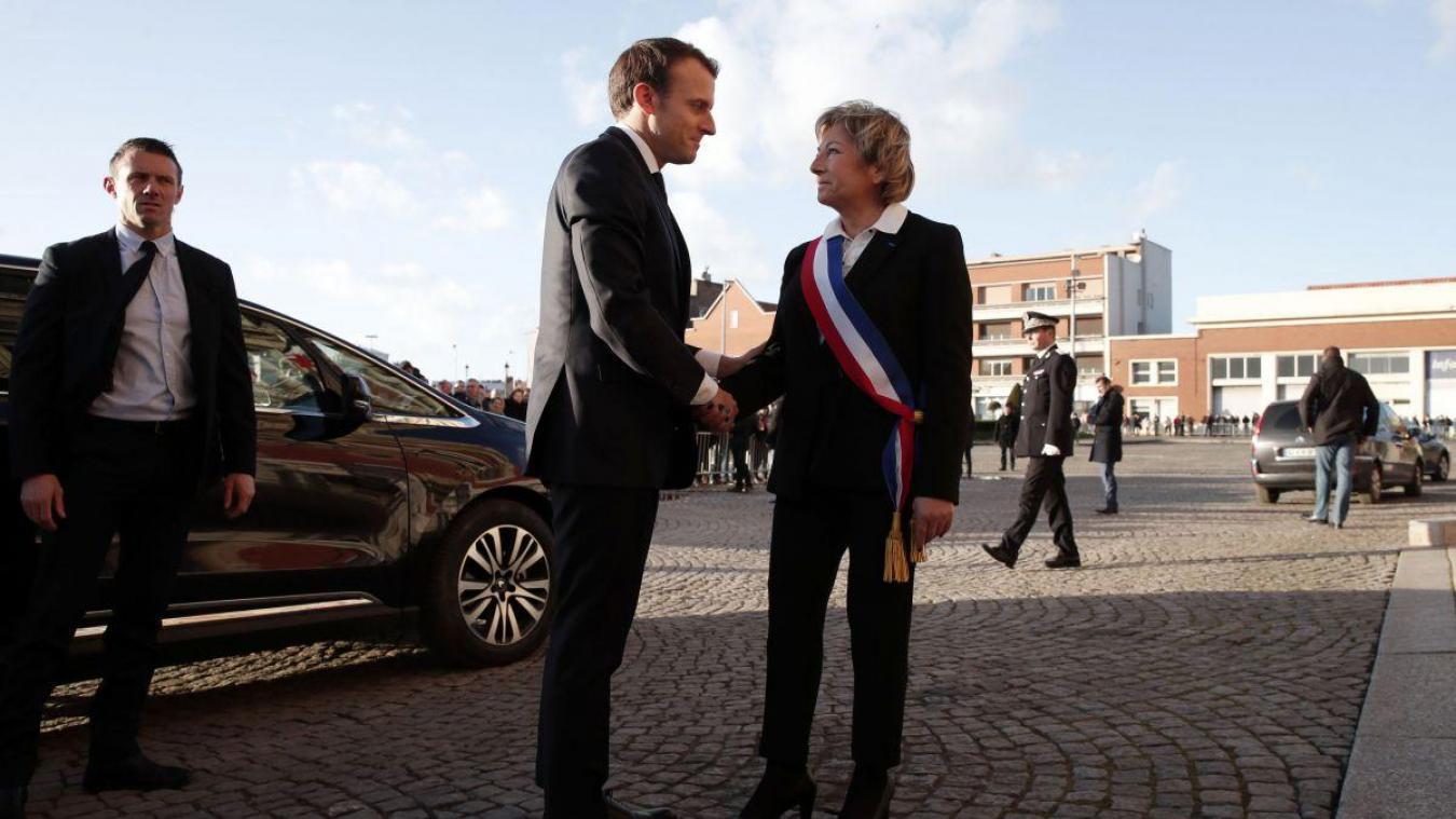 Natacha Bouchart soutiendra-t-elle Emmanuel Macron en 2022 ? « Et pourquoi pas ? » répond la maire de Calais