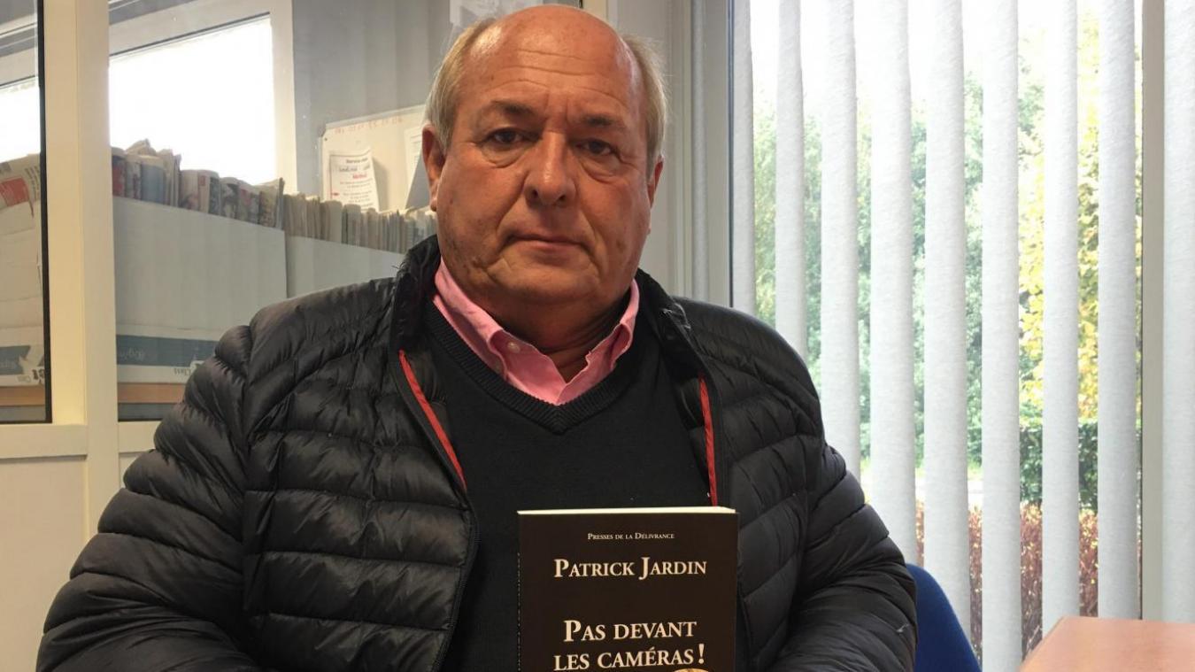 Patrick Jardin, vit entre la région lilloise et la Côte d'Opale. Dans son livre sorti à l'été 2020 et intitulé « Pas devant les caméras », il revient sur l'attentat du Bataclan et l'assassinat de sa fille.