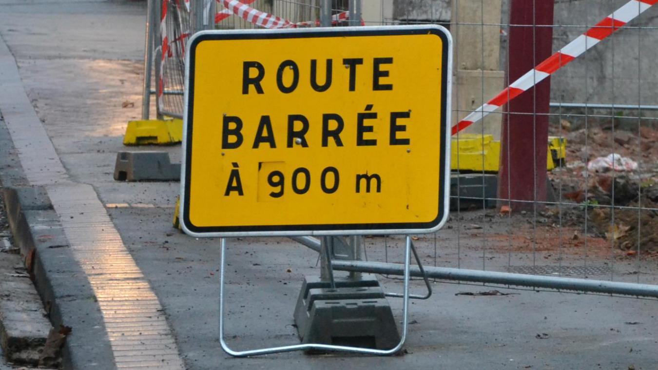 Durant la période de travaux, les rues concernées seront fermées à la circulation