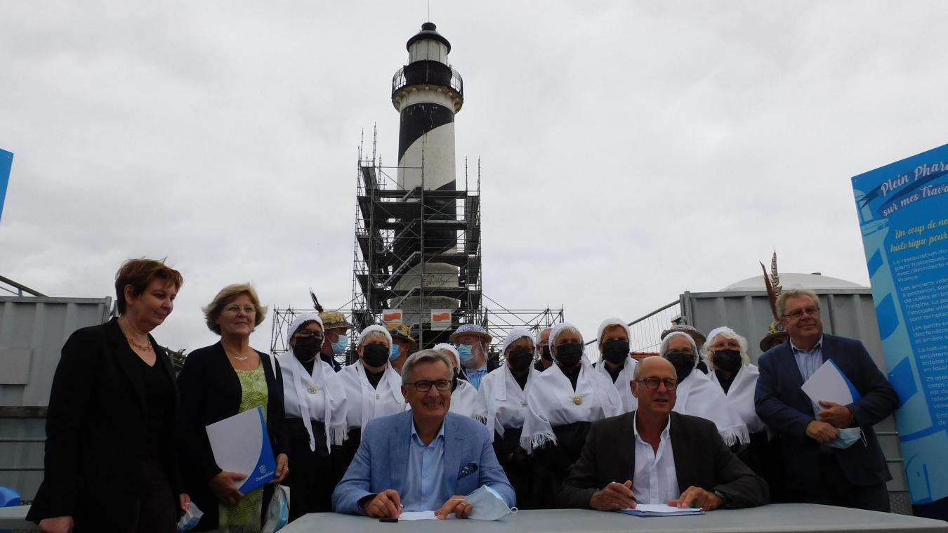 Une convention a été signée avec la Fondation du patrimoine, qui va assurer le suivi de la collecte de dons.